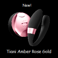 Tiani amber rose gold edition
